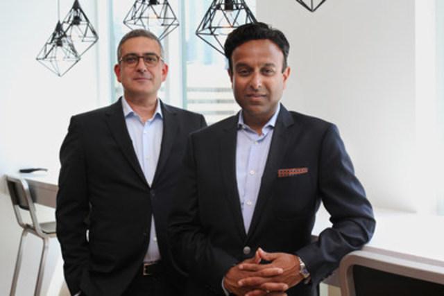 En plus de poursuivre ses fonctions de directeur général de NATIONAL Equicom, Ronald Alepian (à gauche) devient vice-président principal, Communication corporative et financière à Toronto, et Nini Krishnappa (à droite) se joint à la Firme à titre de vice-président, Communication corporative. (Groupe CNW/Cabinet de relations publiques NATIONAL - Toronto)
