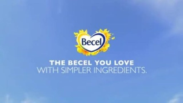 Video: The Becel® you love with simpler ingredients is made with a heart healthy master blend of oils taken from pressed sunflower and Canadian canola seeds. It's perfect for everyday spreading, frying, cooking and baking, so you can feel good about serving your family the great taste of Becel®.