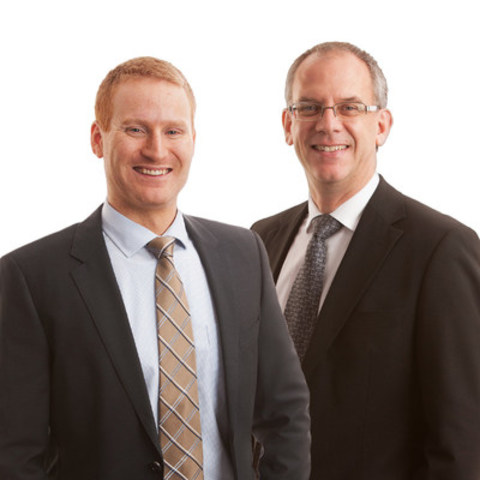 Left to right - Kyle Cochrane & Greg Hemstad, Partners,Collins Barrow Red Deer LLP (CNW Group/Collins Barrow National Cooperative Incorporated)