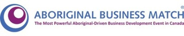 The Aboriginal Business Match (ABM) logo. (CNW Group/Aboriginal Business Match)
