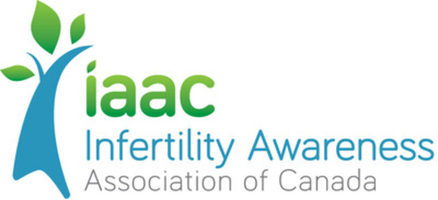 The Infertility Awareness Association of Canada (IAAC)'s new logo. (CNW Group/Infertility Awareness Association of Canada)
