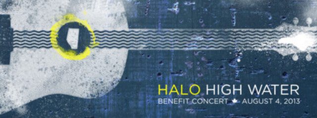 Halo High Water Benefit Concert and Telethon in support of The Calgary Foundation's Flood Rebuilding Fund, August 4th, 2013. (CNW Group/Halo High Water Benefit Concert)