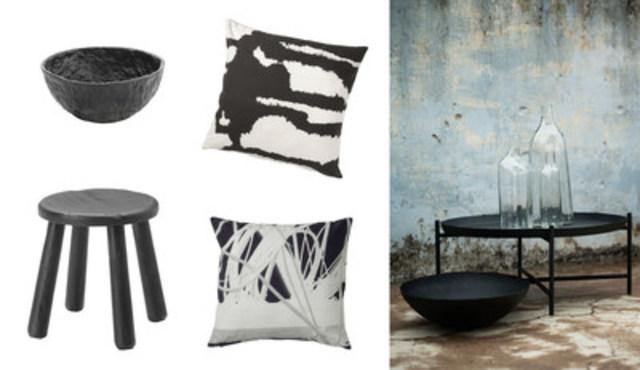 Collection SVARTAN, collaboration Martin Bergström, le designer de textiles, chez IKEA en septembre 2016 (Groupe CNW/IKEA Canada)