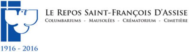 100 ans d'histoire et d'accompagnement pour le cimetière Le repos Saint-François d'Assise (Groupe CNW/Le repos Saint-François d'Assise)