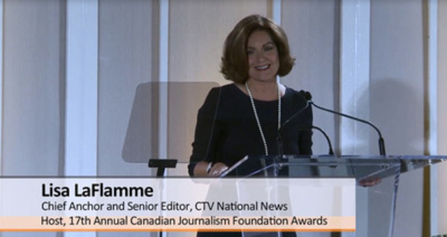 Video: 17th Annual Canadian Journalism Foundation Awards highlights.