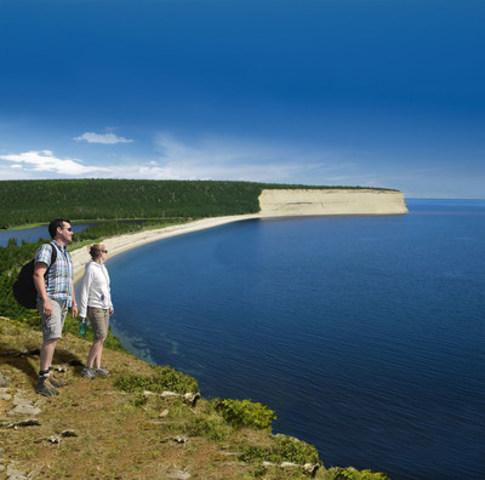L'île d'Anticosti, pour décrocher quelques jours  (Groupe CNW/Société des établissements de plein air du Québec)