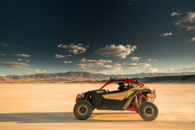 The 2017 Can-Am Maverick X3 Features a Design that is Defiant, Precise and Powerful (CNW Group/BRP Inc.)