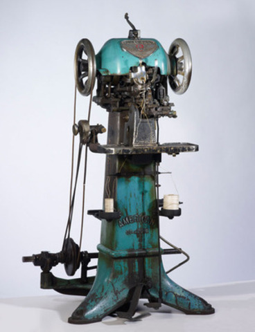 Le moulin à cuir American St.Louis. Crédit photo : © Musées de la civilisation. (Groupe CNW/Commission de la capitale nationale du Québec (CCNQ))