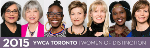 YWCA Toronto's Women of Distinction are outstanding role models, committed to creating opportunities that improve the lives of women and girls in Toronto. Whether recognized as trailblazers in their field, or young women on the rise, all are pathfinders, developing solutions to the key issues facing Canadian women. (CNW Group/YWCA Toronto)