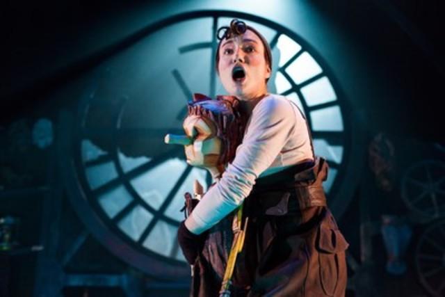 Marie-Eve Milot, interprète de Pinocchio (Groupe CNW/Conseil des arts et des lettres du Québec)