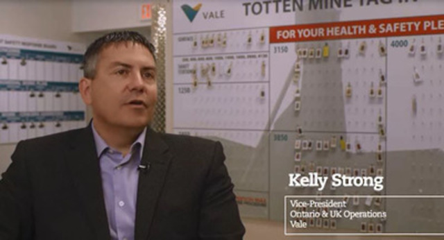 Video: Celebrating Totten Mine, Vale in Canada's Mine of the Future.