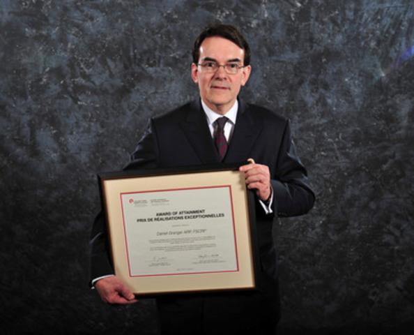 Daniel Granger, APR, FCPRS (CNW Group/Canadian Public Relations Society)