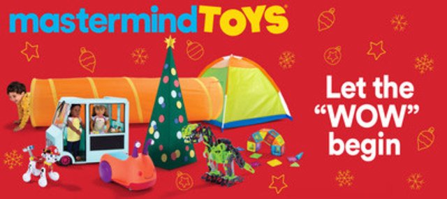 The Mastermind Toys Holiday Gift Guide is Here (CNW Group/Mastermind Toys)
