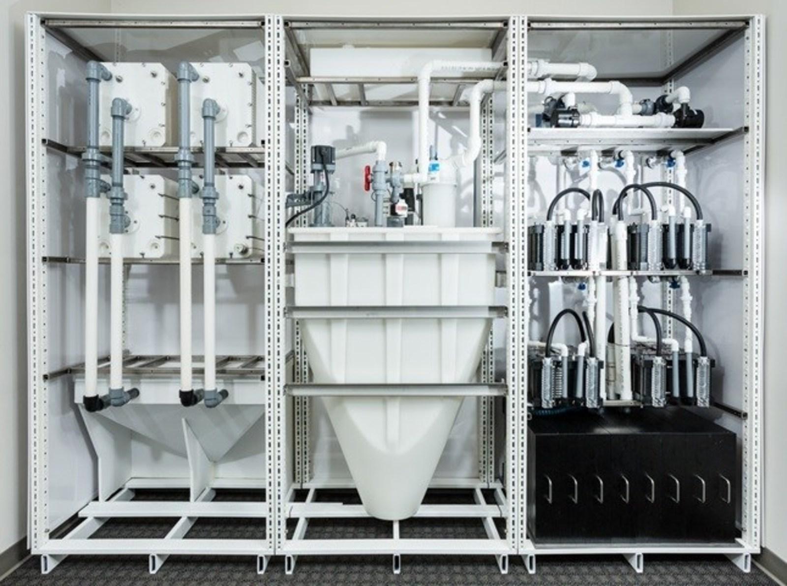 Figure 1. MGXR modular Energy Storage System