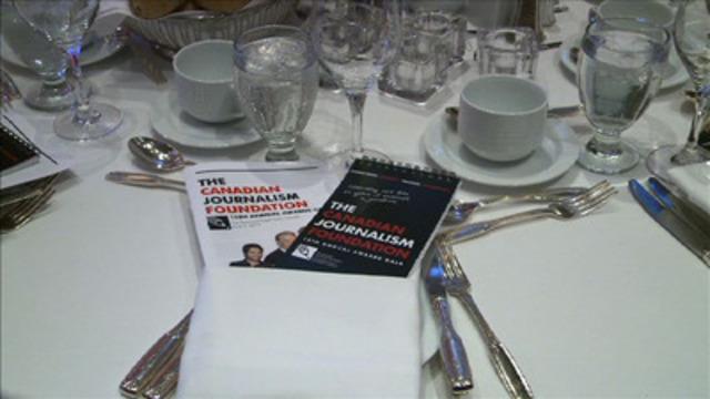 Video: CJF Awards Gala highlights 2012