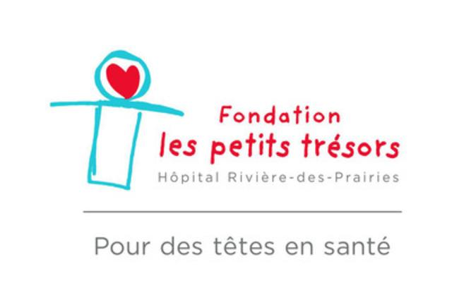 Fondation les petits trésors of Hôpital Rivière-des-Prairies - Logo (CNW Group/Les Productions Prime inc.)