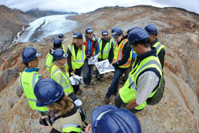 Seabridge Gold with regulators on the Mitchell Deposit at the KSM Project in northwestern British Columbia. (CNW Group/Seabridge Gold Inc.)
