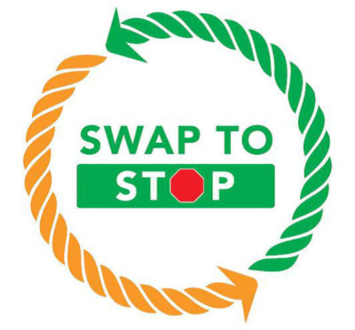 Beginning on May 29, 2013 at the Grande Prairie Stompede, the SWAP to STOP campaign will invite rodeo athletes and attendees to swap their cigarettes and smokeless tobacco for NICORETTE® gum and start going tobacco-free. (CNW Group/The Lung Association, Alberta & NWT)