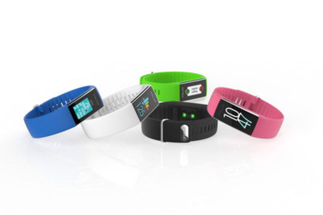 Polar brings leading heart rate accuracy to their first 24/7 fitness tracker featuring optical heart rate and color touchscreen display (CNW Group/Polar Electro Canada)