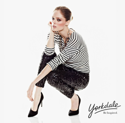 Yorkdale's 2012 Expansion Campaign featuring Coco Rocha, fashions by LOFT (CNW Group/Yorkdale Shopping Centre)