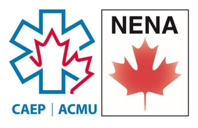 Logo : Canadian Association of Emergency Physicians (CAEP) and the National Emergency Nurses Association (NENA) (CNW Group/Canadian Association of Emergency Physicians)