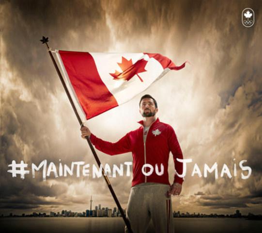Mark Oldershaw, porte-drapeau d'Équipe Canada. (Groupe CNW/Comité olympique canadien)