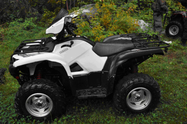 ATV. (CNW Group/Ontario Provincial Police)