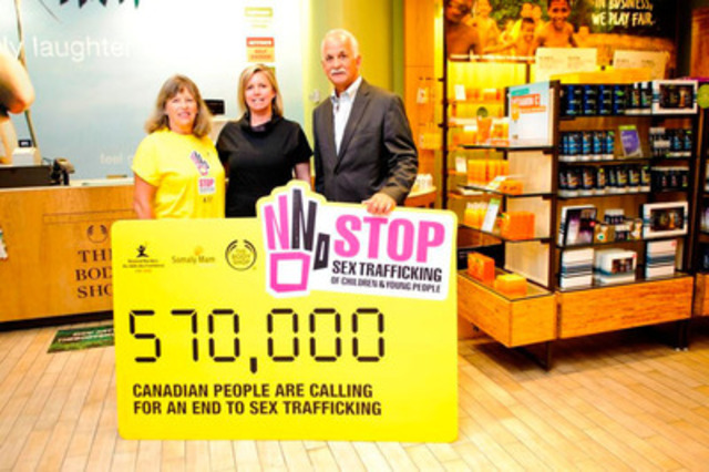 The Body Shop Canada and Supporters Hand Over a Petition ...