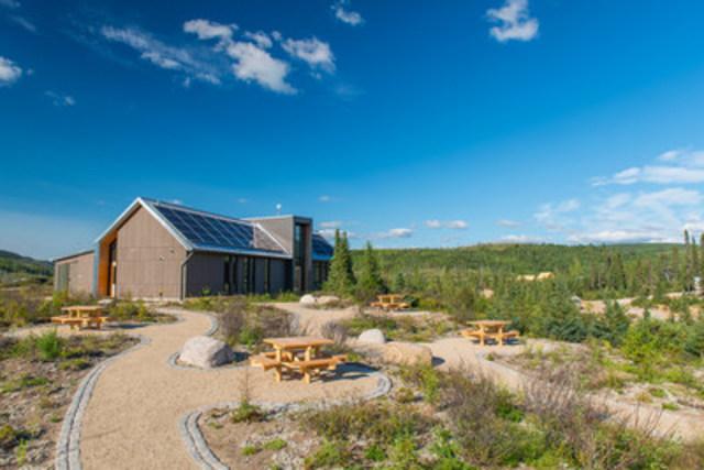 Centre de découverte et de services Arthabaska (Groupe CNW/Société des établissements de plein air du Québec)