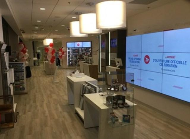 Postes Canada vient d'inaugurer sa nouvelle boutique concept à Vancouver, situé au 495, rue West Georgia. (Groupe CNW/Postes Canada)