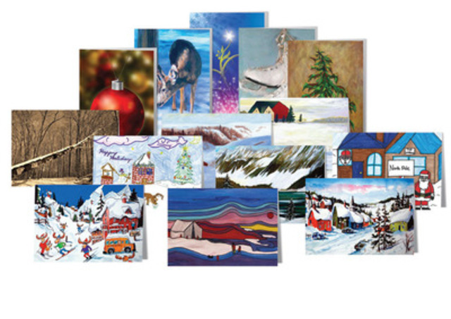 The Printing House Ltd.™ Presents Environmentally and Socially Responsible Greeting Cards to Assist Hungry Canadian Children (CNW Group/The Printing House Limited)