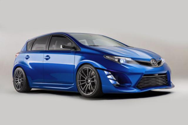 Conçue pour la conduite en ville et pour favoriser la spontanéité, la voiture concept iM fait ses débuts canadiens au Salon de l'auto de Toronto (Groupe CNW/Toyota Canada Inc.)