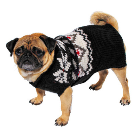 Wool Handmade Dog Sweater $24.99 compare at $40 (CNW Group/Winners)