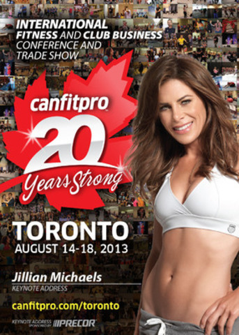 Canada's Largest Fitness Event (CNW Group/Canadian Fitness Professionals Inc. (canfitpro))