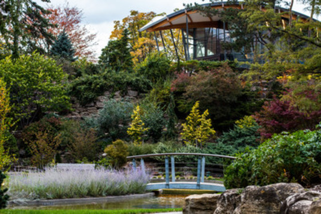 Royal Botanical Gardens historic Rock Garden re-opens following a $20 million renovation. (CNW Group/Royal Botanical Gardens)