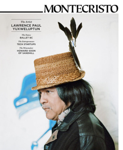 """""""Some things are really violent and it has to be recorded,"""" says Coast Salish artist Lawrence Paul Yuxweluptun. """"Do people want to go there? No. Do we need it? Yes."""" Yuxweluptun discusses the issues addressed in his large, vivid artworks for the Summer 2012 issue of MONTECRISTO Magazine. www.montecristomagazine.com (CNW Group/MONTECRISTO Magazine)"""