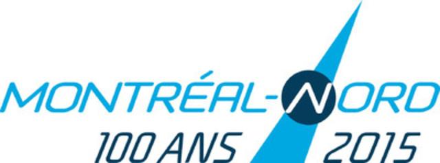 Logo du centenaire de Montréal-Nord.(Groupe CNW/Société Montréal-Nord 2015)