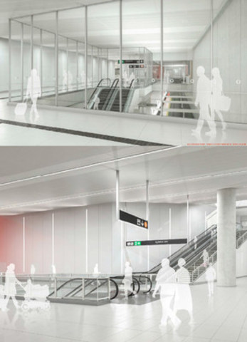 Concepts for Station Interiors (CNW Group/Metrolinx)
