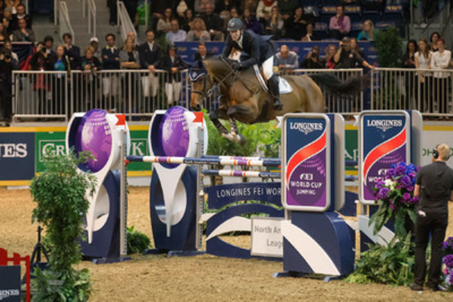 Two-time Olympic team gold medalist McLain Ward of the United States returns to the Royal Horse Show to defend his title in the $130,500 Longines FEI World Cup™ Jumping Toronto. (CNW Group/Royal Agricultural Winter Fair)