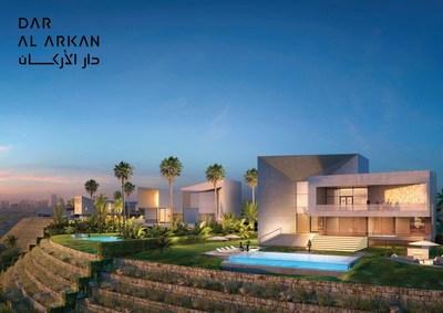 """""""دار الأركان"""" تطلق مشروع فلل """"ميرابيليا"""" بتكلفة 600 مليون ريال في """"شمس الرياض""""، مع تصاميم داخلية من """"روبرتو كافالي"""""""