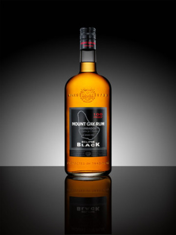 Mount Gay Rum launches a true rum for true rum lovers, Eclipse Black. (CNW Group/Mount Gay Rum)