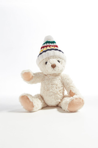 Introducing Philip, Hudson's Bay Company Foundation's 9th annual heritage charity bear. 100% of net proceeds from the sale of Philip go to the HBC Foundation, which is dedicated to improving the lives of Canadians through programs that reflect our distinct Canadian values. (CNW Group/Hudson's Bay Company)
