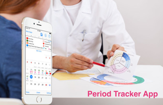 Period Tracker: New iOS App Makes Accurate Calculations and 100% Data Privacy A Reality (CNW Group/Period Tracker)