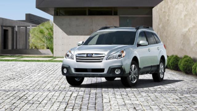 2013 Subaru Outback 2.5i Convenience Package (CNW Group/Subaru Canada Inc.)