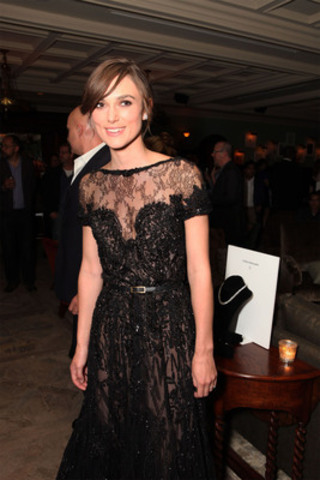 Keira Knightley celebrates the launch of Forevermark Canada at the premiere party for her film Anna Karenina during the Toronto International Film Festival. (CNW Group/Forevermark)