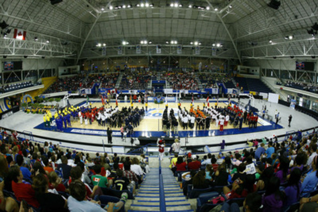 Opening Ceremony at the 2014 Women's World Wheelchair Basketball Championship at the Mattamy Athletic Centre in Toronto, Ont. (CNW Group/Wheelchair Basketball Canada)