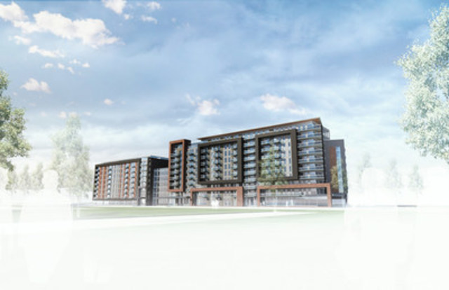 Chartwell announces development of a new residence in Candiac (CNW Group/Chartwell Retirement Residences)