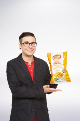 Randall Litman, de Calgary, en Alberta, a conçu la saveur Macaroni au fromage et jalapeño sur Lay's ondulées (Groupe CNW/PepsiCo Canada)