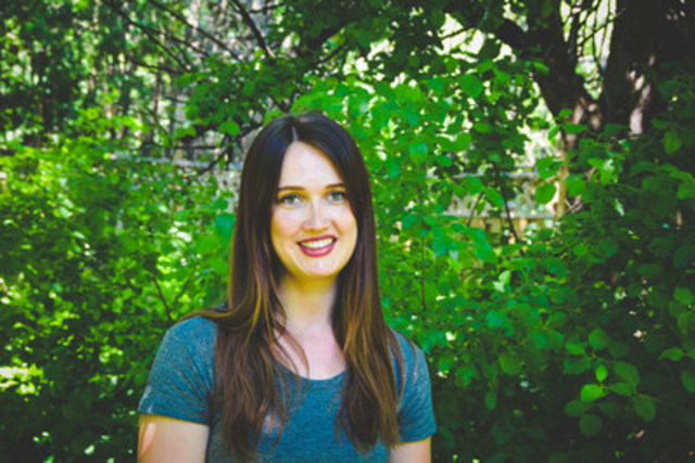 Toronto-based writer Laura Legge is the RBC/PEN Canada New Voices Award winner. (CNW Group/PEN Canada)