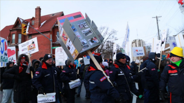 Video: Rally For Postal Service Draws Thousands
